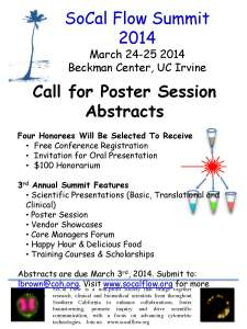 SoCal Flow Poster session Flier Final_24Jan2014