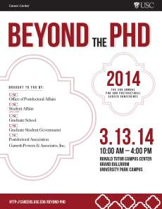 Beyond the PhD_Quarter Page Save the date