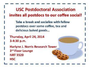 HSC Coffee Social 04-24-14